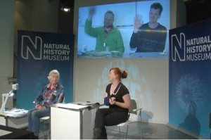 Aoife Glass Presenting Nature Live
