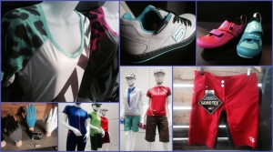 Eurobike 2014 collage women's cycling gear