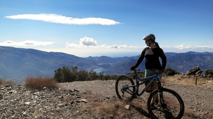 My Juliana Furtado bike in the mountains of the Sierra Nevada, Spain