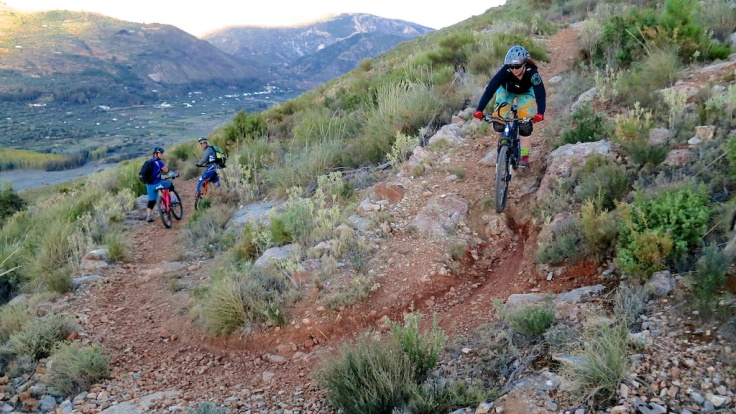 The upgraded Juliana Furtado in action on '100 Switchbacks' (it doesn't actually have 100 switchbacks on the trail, fyi) Image copyright Aoife Glass